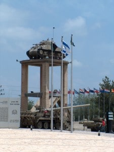 The first Tank of Israel – Sherman June 1948