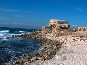 caesaria, israel, north coast, private tour guide