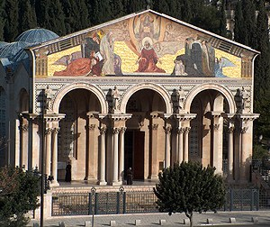 Church of All Nations, Mount of Olives