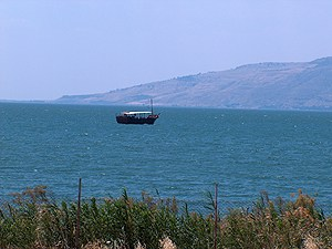 sea of galilee, wooden fishing boat, northern israel, private tour guide