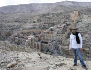 Danny the Digger at Marsaba