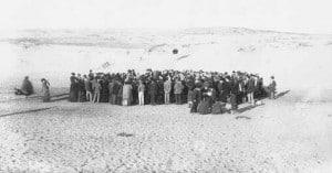 1908 חלוקת המגרשים