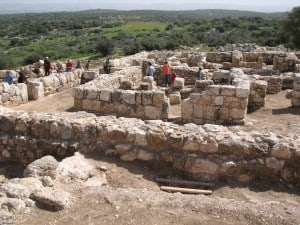 Hirbet Kaipha - a Jewish settlement from king  David period