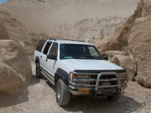 Tour Car at Wadi Sodom