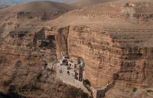 St. George monastery on the bank of Wadi Qelt