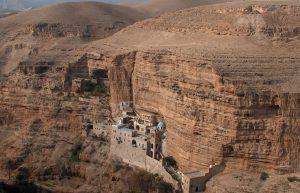 St. George monastery on the bank of Wadi Qelt