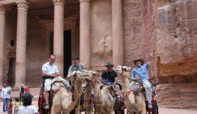 Petra the Treasury 2-4 days south Jordan and Petra